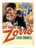 Vintage Movie Poster - The Mark of Zorro Prints