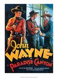 Vintage Movie Poster - Paradise Canyon with John Wayne Print
