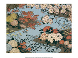 Flowers and Plants of the Four Seasons Poster von Utagawa Hiroshige