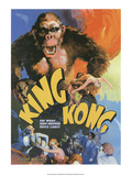 Vintage Movie Poster - King Kong 高画質プリント