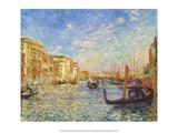 Grand Canal, Venice, 1881 Art by Pierre-Auguste Renoir