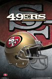 San Francisco 49Ers- Helmet 2015 Print