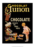Vintage Poster Advertising Chocolate ポスター