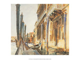 Venice, 1907 Prints by John Singer Sargent