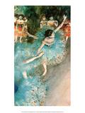Dancer in Blue, 1884 Affiches par Edgar Degas