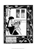 Isabelle Láminas por Aubrey Beardsley
