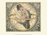 Celestial Map Posters por Andreas Cellarius