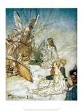 The Fairy Orchestra, 1908 Prints by Arthur Rackham