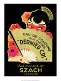 Vintage Art Deco Label, Eau de Cologne Posters