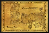 Game Of Thrones - Antique Map Posters