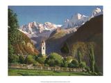 Soglio, Switzerland, 1949 Kunstdrucke