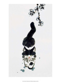 Chinese Walking Cat Affiches