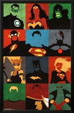 Justice League - Minimalist Prints