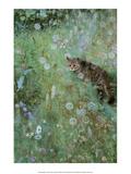Jeppe in a Field of Flowers, 1884 アート : Bruno Liljefors