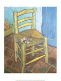 Van Gogh's Chair, 1888 Poster von Vincent van Gogh