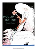 Jazz Age Paris, Moulin Rouge 高品質プリント