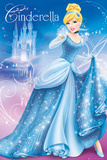Disney Princess- Cinderella アートポスター