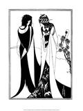 John and Salome Affiches par Aubrey Beardsley
