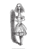 Alice nel paese delle meraviglie Poster di Tenniel, John