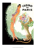 Jazz Age Paris, Casino de Paris, Josephine Baker Art