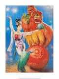 Chinese Happy New Year Circus Poster Pósters