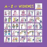 A - Z of Weddings Print by Nicola Streeten