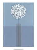 Single Flower Head Prints by Takashi Sakai