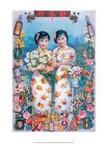Shanghai Lady Vintage Chinese Advertising Poster Prints