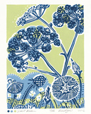 Seed Bloom Giclee Print by Zoe Badger