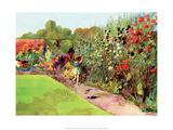 Vintage Classroom Poster - Flower Garden Prints