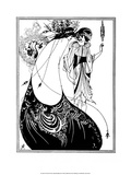 The Peacock Skirt Posters par Aubrey Beardsley