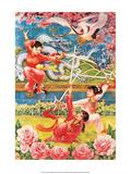 Chinese Circus Propaganda Poster Pósters