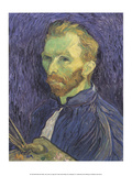 Self Portrait with Palette, 1889 Posters tekijänä Vincent van Gogh