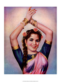 Vintage Bollywood Star, Shyama Pósters