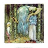 The Magic Herb Prints by John Bauer