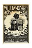 Williams Shaving Stick Giclée-tryk