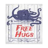 Free Hugs Giclée-tryk