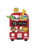 London Bus Zoo Giclée-Druck von Dicky Bird
