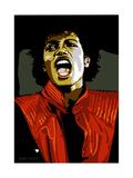 Michael Jackson - Thriller Gicléedruk van Emily Gray