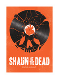 Shaun of the Dead Giclee-trykk av Chris Wharton