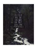 Curious Adventures Giclée-Druck von Leah Flores