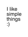 I Like Simple Things Giclée-Druck von Coni Della Vedova