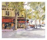 Early Morning Paris Prints by Edie Fagan