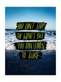 Learn to Surf Giclée-Druck von Leah Flores