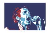 Johnny Rotten - God Save the Queen Giclée-vedos tekijänä Emily Gray