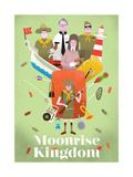 Moonrise Kingdom Giclee Print by Chris Wharton