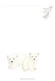Baby Animals II Pósters por June Erica Vess