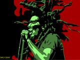 Bob Marley - Stir it Up Giclée-tryk af Emily Gray