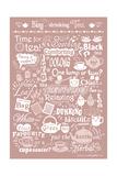 Busy Drinking Tea Giclée-Druck von Busy Being