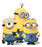 Minions - Group Standup Cardboard Cutouts